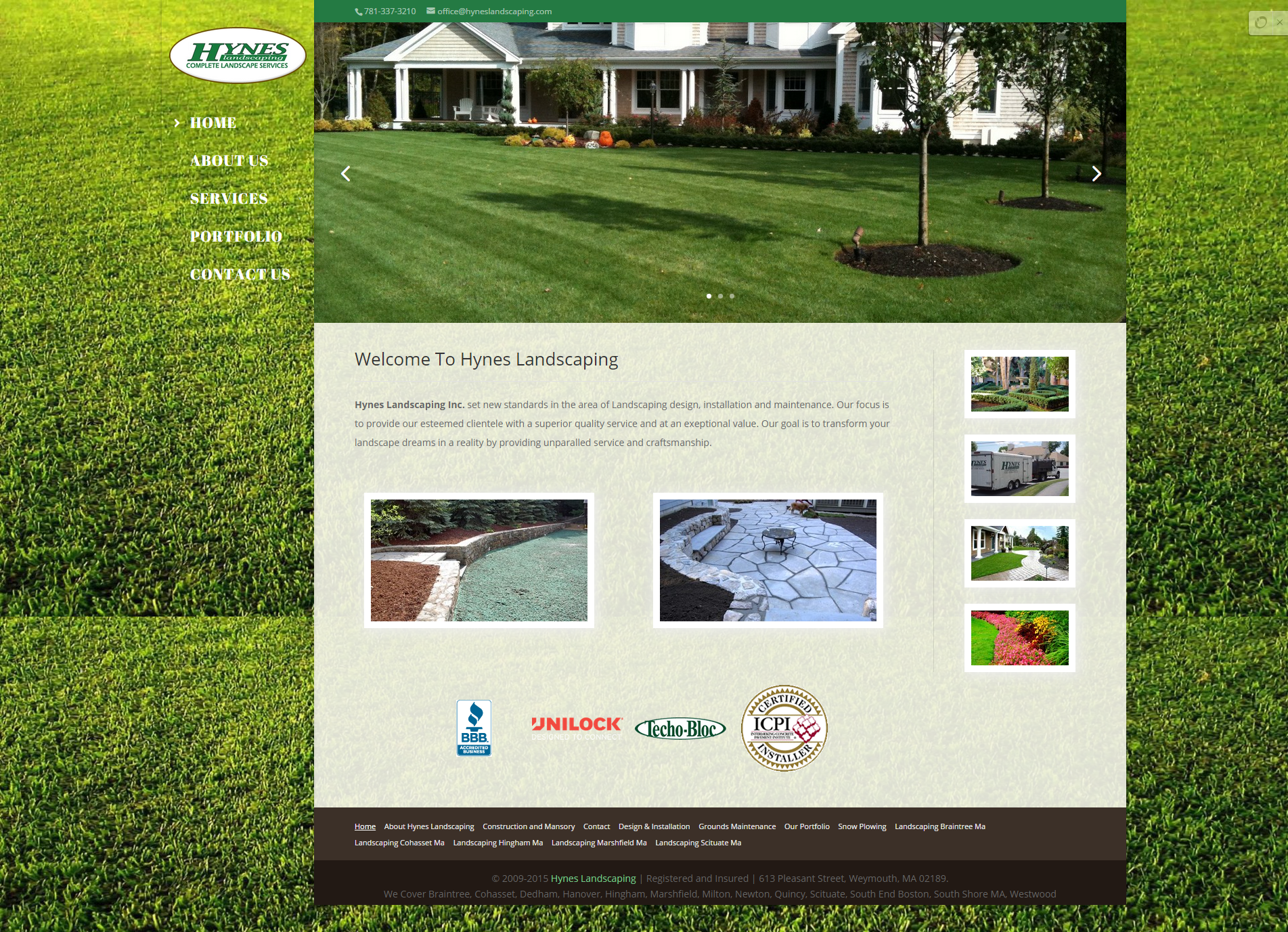Landscaping Landscape Design  Masonry  Patios Hynes Landscaping
